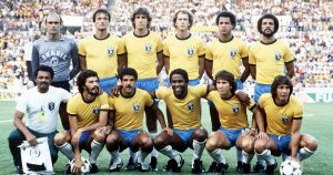 Brazil team photo, 1982