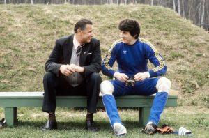 Lev Yashin and Rinat Dasaev