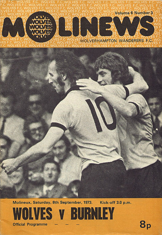 Wolves v Burnley, 1973