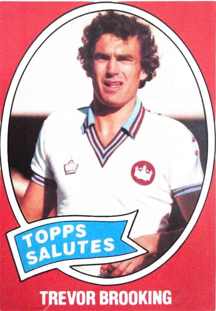 Trevor Brooking of West Ham