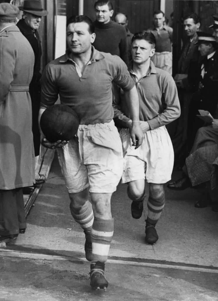 Bob Paisley as Liverpool player