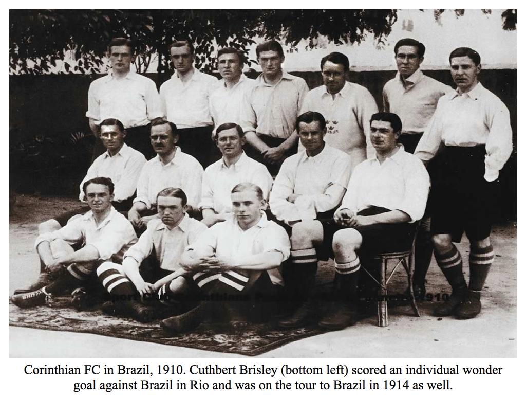 Corinthian FC Brazil 1910