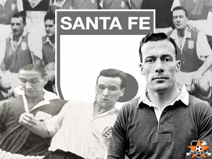 George Mountford, Neil Franklin and Charlie Mitten of Santa Fe