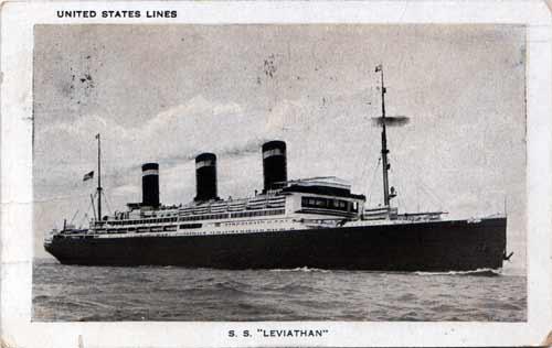SS-Leviathan, 1927