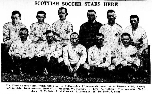 Third Lanark All-Scots, 1921