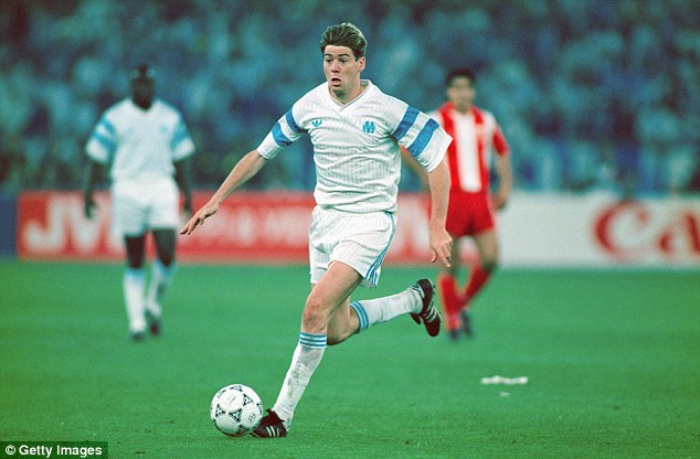 Chris Waddle, Marseille 1991