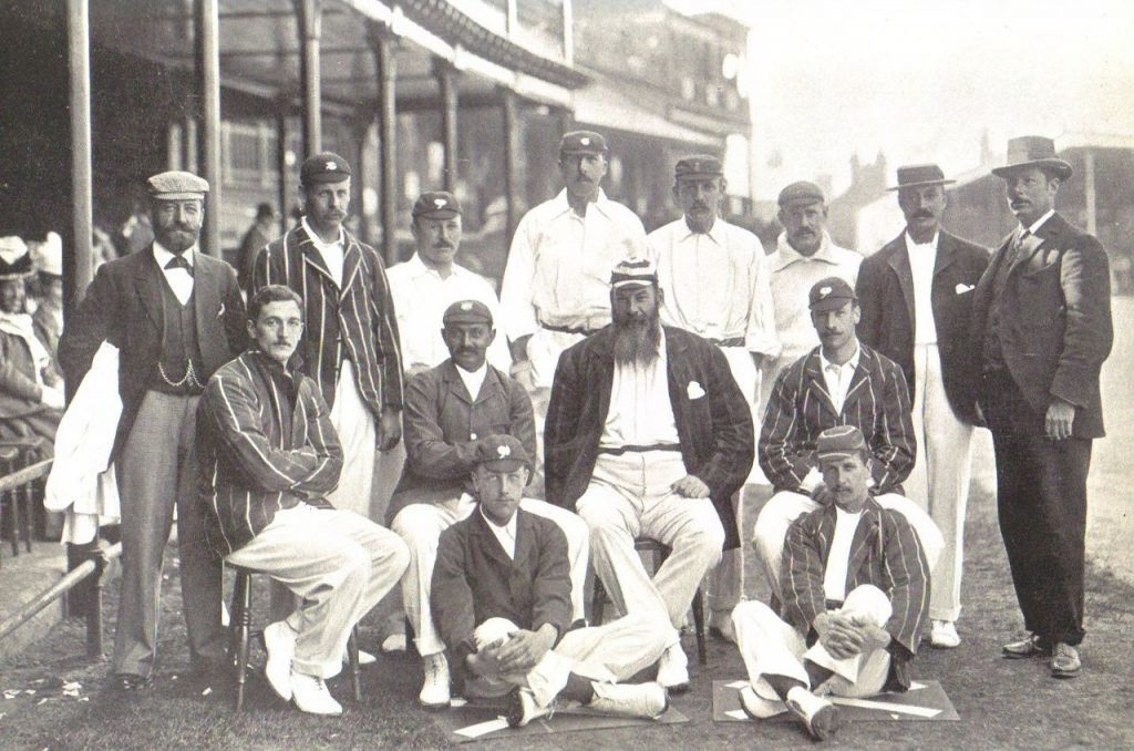 England cricket team v. Australia at Trent Bridge, 1899