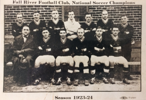 Fall River, 1923-24 (Owner Sam Mark is seated at the far left)