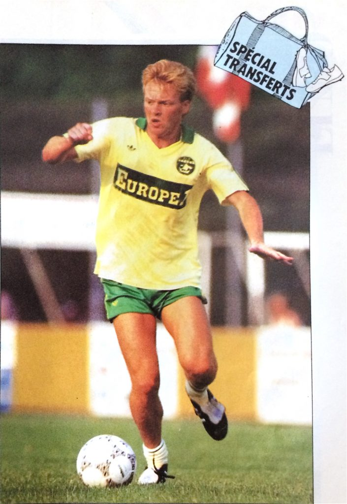 Mo Johnston, Nantes 1987