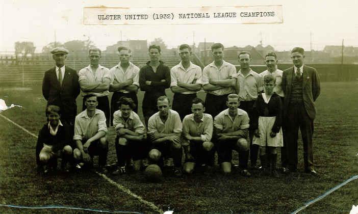 Toronto Ulster United, 1932