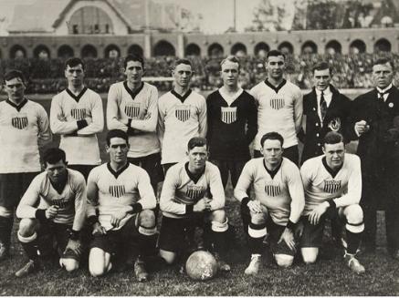 USA team, 1916