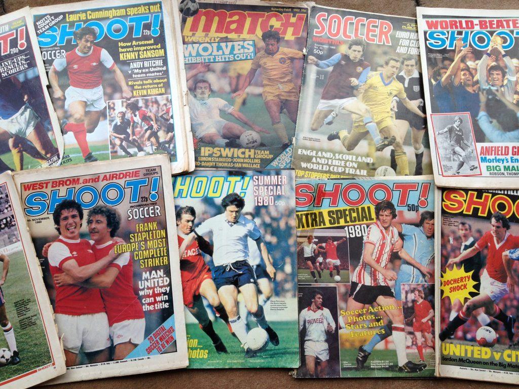Football Magazines circa 1980