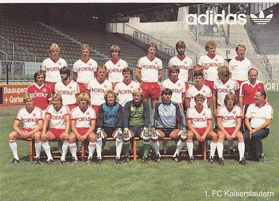 Kaiserslautern squad 1983-84
