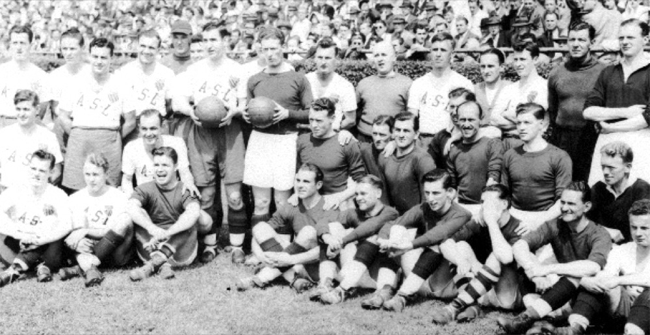 Liverpool with the ASL All-Stars, 1946