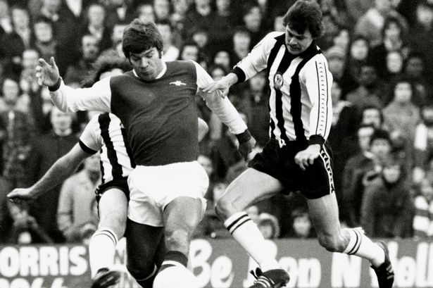 Malcolm MacDonald, Arsenal v Newcastle