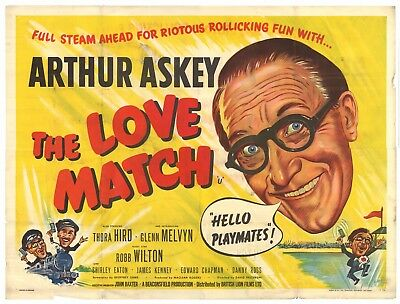 The Love Match (1955) poster