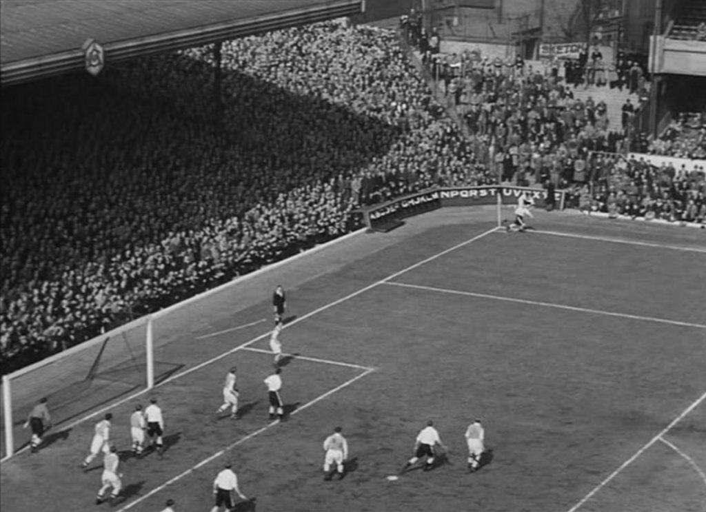Scene from the Arsenal Stadium Mystery, 1939