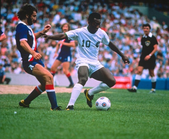 Pelé at the New York Cosmos