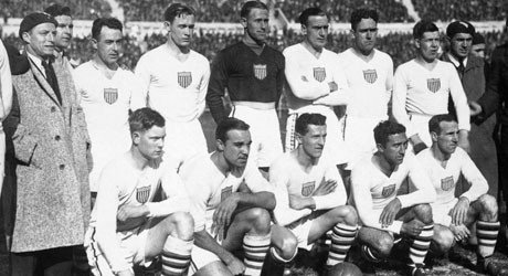 USA team at the 1930 World Cup