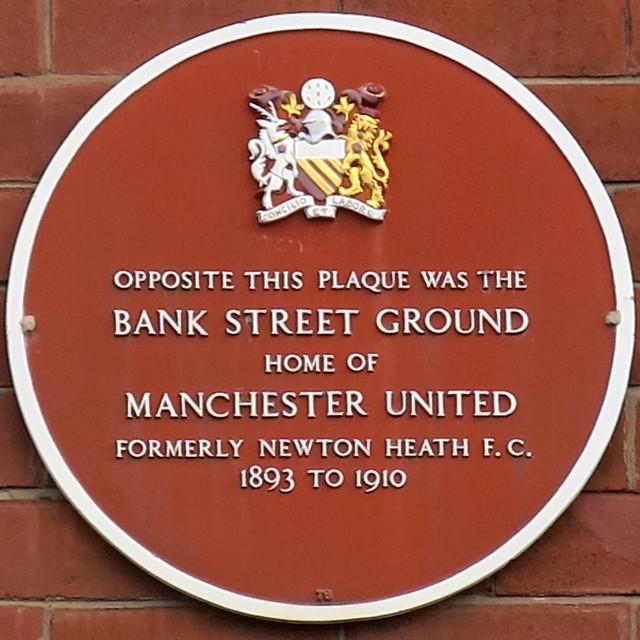Bank Street Plaque