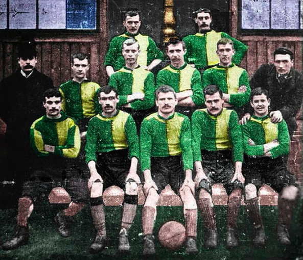 Newton Heath FC team picture, 1893