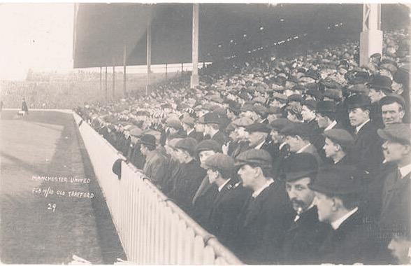 Old Trafford on opening day, 19 February 1910