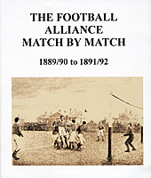 The Football Alliance Match by Match