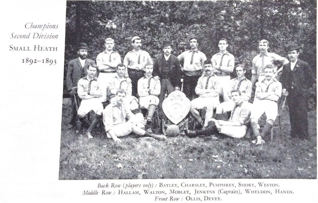 Small Heath 1892-93