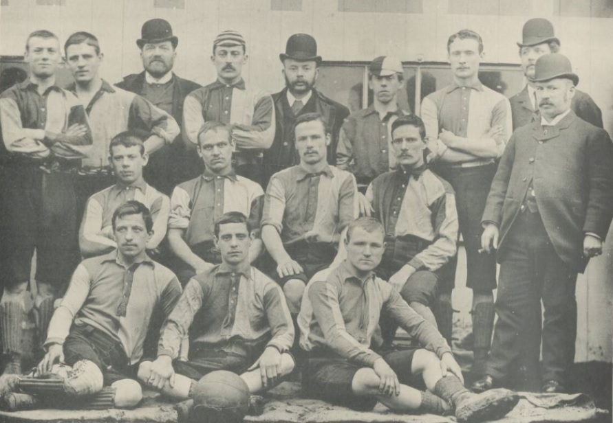 The Wednesday before the 1890 FA Cup Final