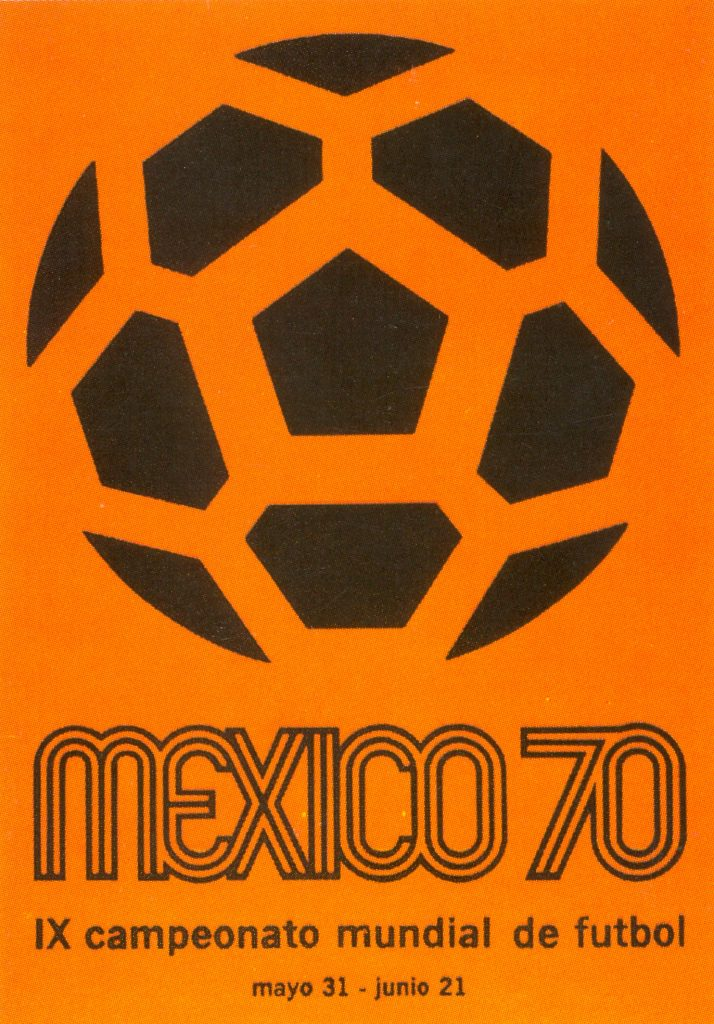 Mexico 1970 World Cup poster
