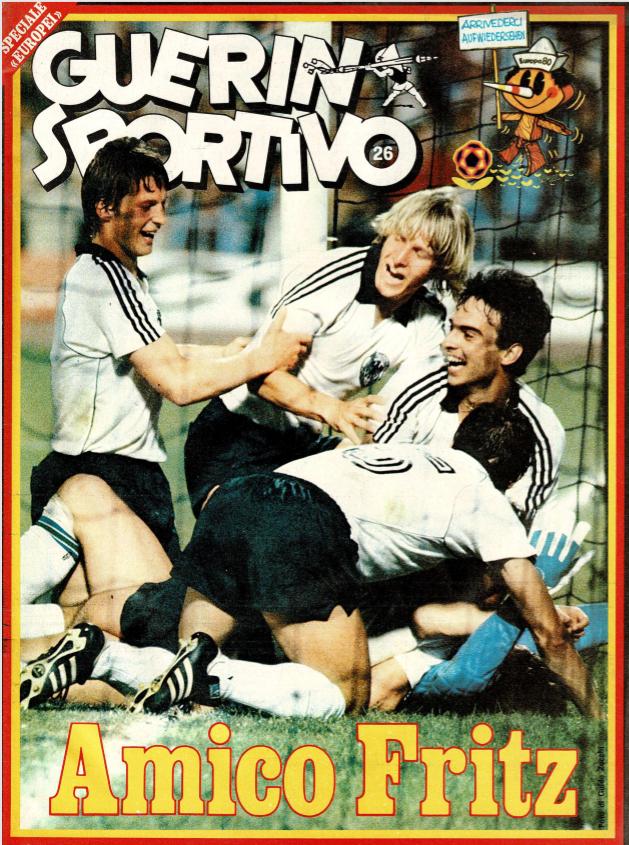 Guerin Sportivo magazine Euro 1980 review