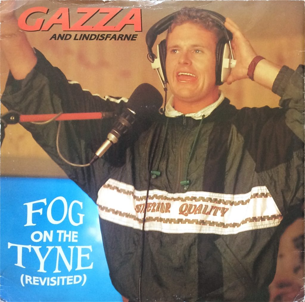 Gazza and Lindisfarne, 'Fog on the Tyne (Revisited)' single 1990