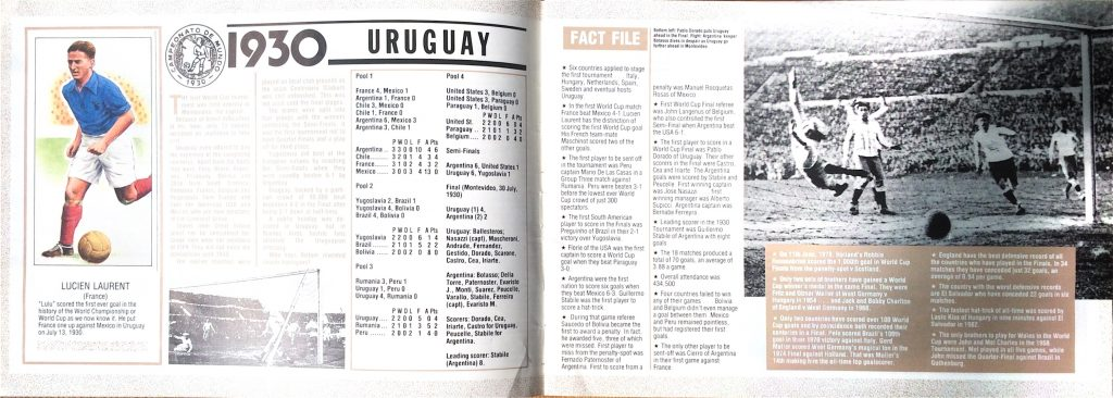 1930 World Cup Review (World Soccer, 1990)