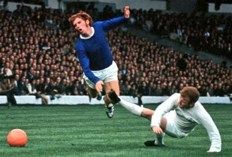 Alan Ball and Billy Bremner of Everton and Leeds United, 1970