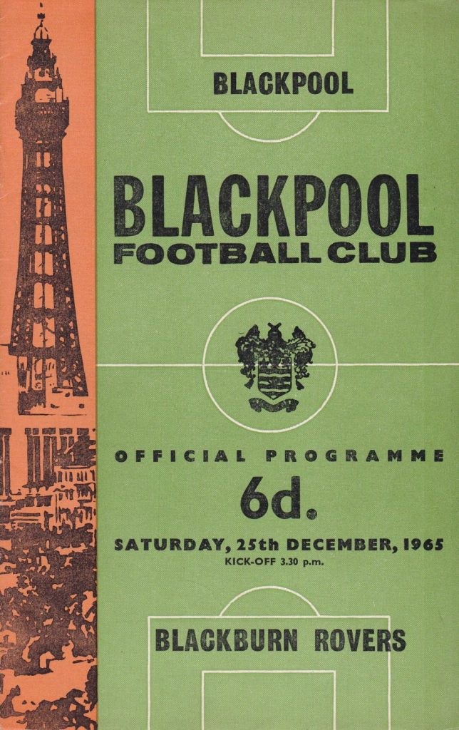 Blackpool-Blackburn Xmas Day 1965