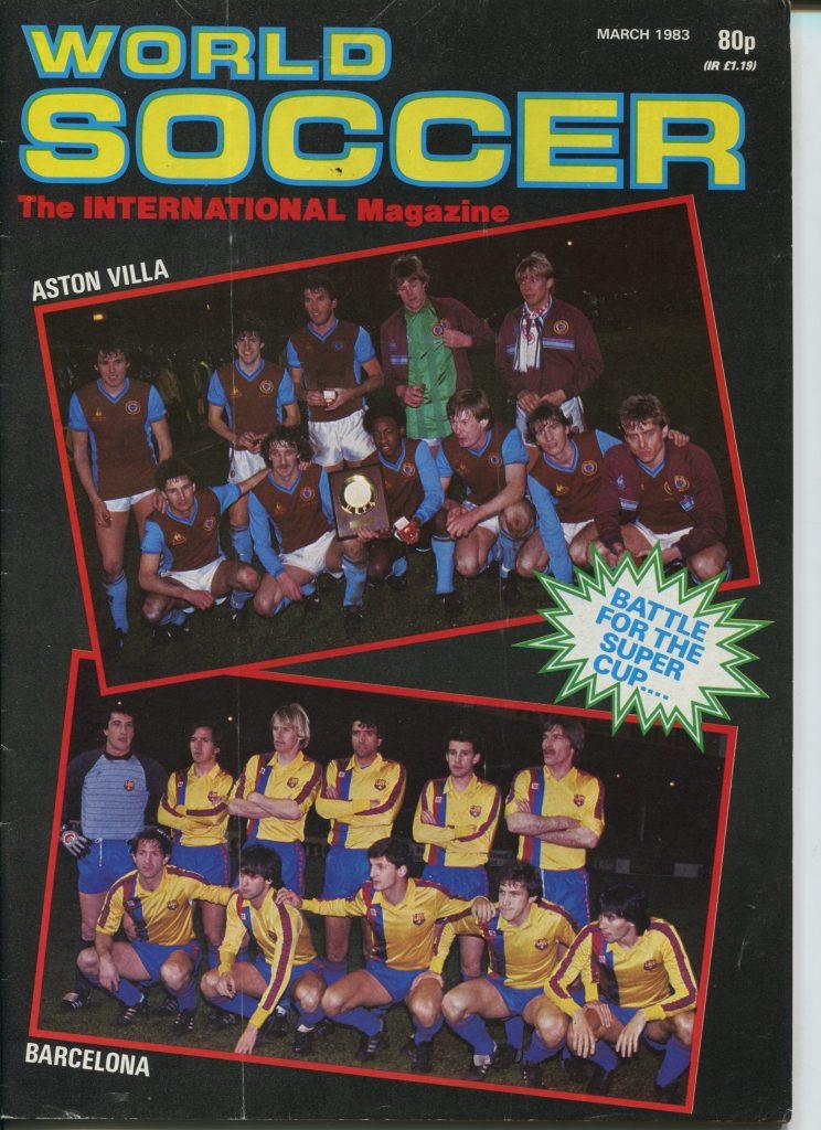 World Soccer magazine, March 1983