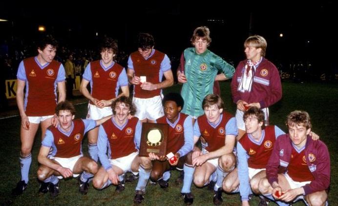 Aston Villa, European Super Cup winners