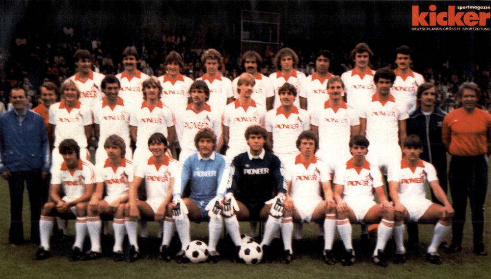 FC Cologne 1980-81