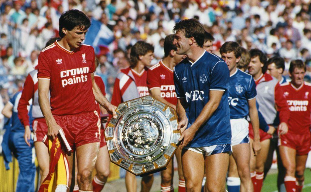 1986 FA Charity Shield Liverpool v Everton