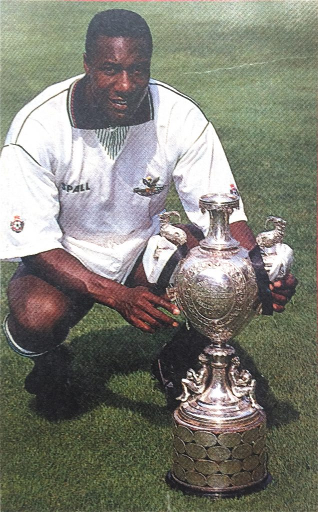 Terry Connor of Swansea, 1991