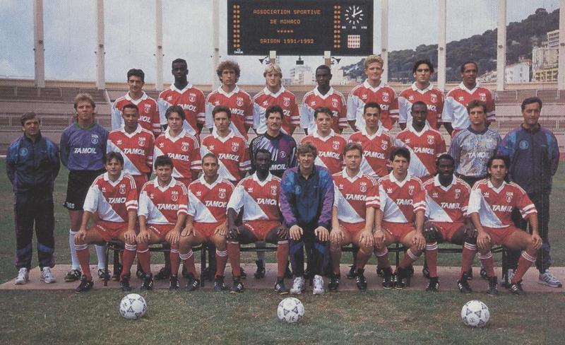 Monaco squad 1991-92
